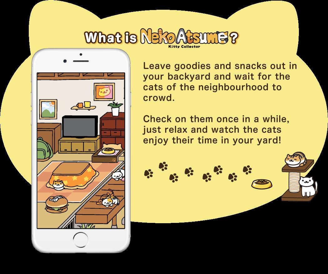 neko atsume kitty collector official website